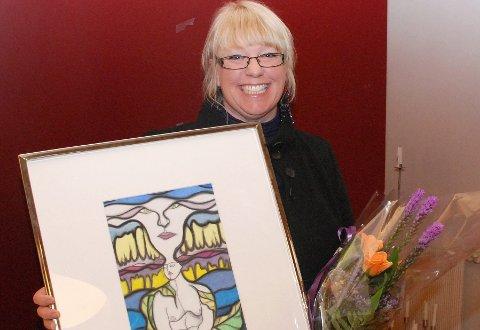 Frivillig: Chatrin Hagen har selv fått pris for frivillighet, onsdag er hun med på å prise frivilligheten.