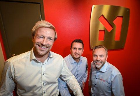 Momek group starter investeringsselskap som skal drives av Bjørn Audun Risøy. Wiggo Dalmo og driftsdirektør Roger Skatland. – Vi har følt at vi har manglet et verktøy. Dette er nå på plass, sier Dalmo til nikking fra Skatland. Inntil videre er derimot verken selskapets navn eller startkapitalen på plass. – Det jobber vi med nå.