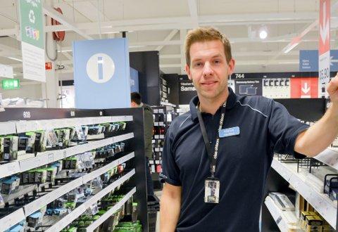 Marius Nilsen skifter jobb og blir varehussjef på Byggmakker Wulsberg.
