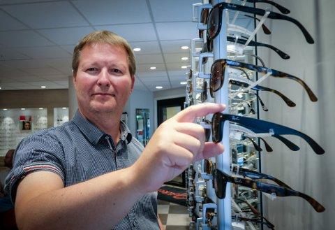 Tommy Jensen er Din optiker. Fjorårets resultater ble gode, til tross for en uforutsigbar periode med koronavirus.
