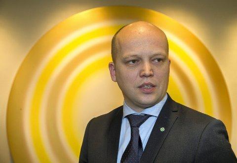 SP-LEDER: Trygve Slagsvold Vedum.