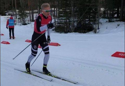 Bronse: Mats Opsal leverte det beste han noensinne har gjort i skisporet og ble tre i norgescupen.