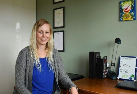 STARTER NYTT: Annette Dæhlin starter opp vekthjelp  for overvektige.