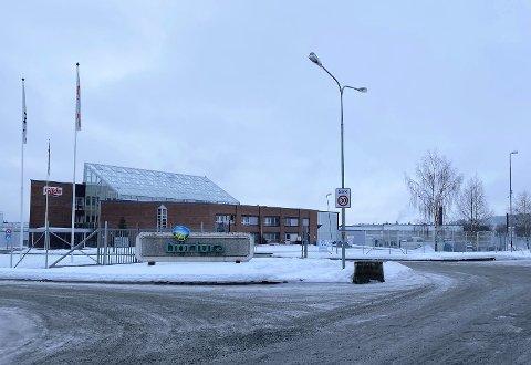 NORTURA RUDSHØGDA: Vannlekkasje gjør at deler av produksjonen ved Nortura Rudshøgda står.