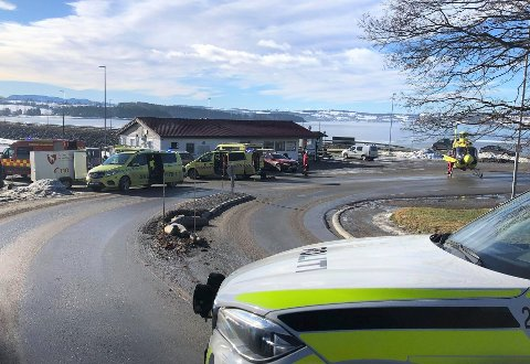 OMKOM: Det var en lokal mann som fredag formiddag gikk gjennom isen og omkom utenfor Tingnes. Det opplyser politiet.