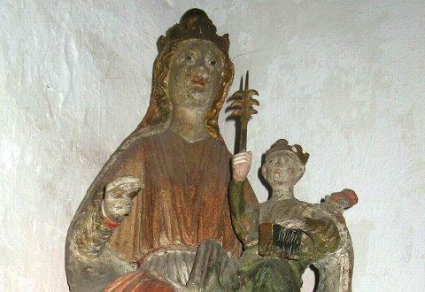 Madonnaen i Bønsnes er et eksempel på førreformatorisk kirkekunst som overlevde reformasjonen.