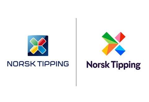 NY LOGO: Norsk Tipping frisker opp logoen for 100 millioner kroner. Foto: Norsk Tipping / NTB scanpix