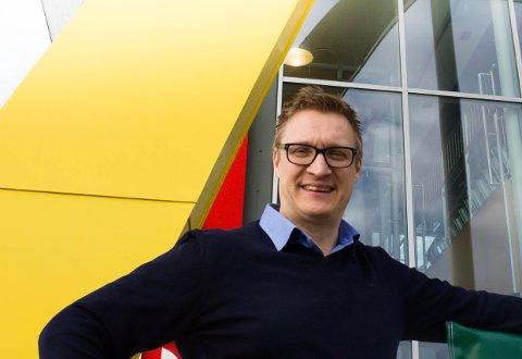 GLEDER SEG: Franchisetager Frank Wilhelmsen ser fram til ny resturant