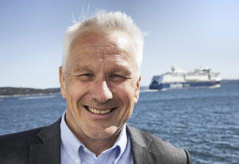 SAMLET: Prosjektrådmann for nye Asker, Lars Bjerke, mener det er viktig å se på hele kystlinjen i nye Asker under ett.  Arkivfoto: Henning Jønholdt