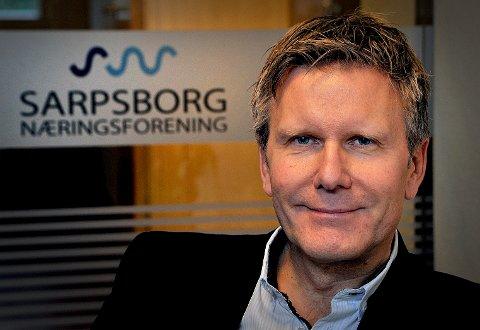 FULLT HUS: Næringsforeningens frokostmøte er fulltbooket, forteller Hans Petter Vestby.