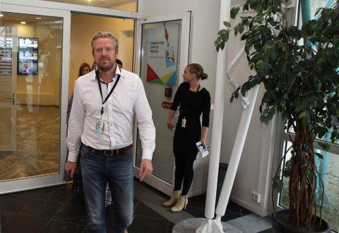 TV 2s nyhets- og sportsredaktør Jan Ove Årsæther reagerer kraftig på Norsk Toppfotballs oppfordring til boikott av FotballXtra. Foto: Emil Weatherhead Breistein / NTB scanpix