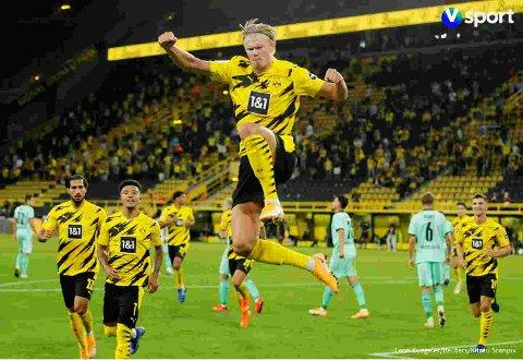Telias kunder kan igjen se Bundesliga-fotball med Erling Braut Haaland.