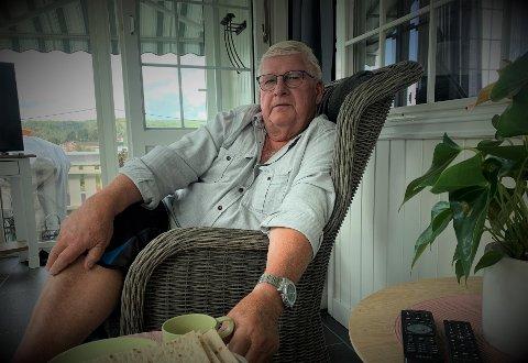 FAMILIEKRANGEL: Erland Krog måtte igjen møte i retten i juni, som skulle avgjøre om han hadde begått odelsmisbruk, og dermed er erstatningspliktig overfor nevøen Kjetil Krog.