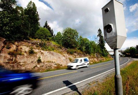 OVERVÅKER: Mange blir tatt for å kjøre for fort. Foto: Kyrre Lien/Scanpix