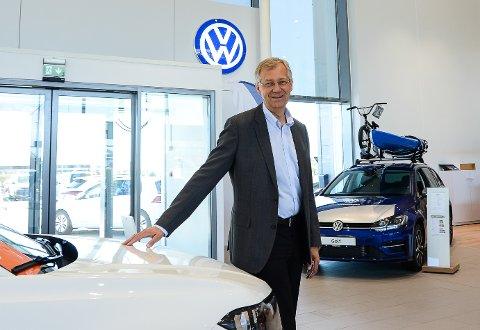 TREDJE GENERASJON: Per Helge Gumpen er tredje generasjon bilforhandler fra Kristiansand.