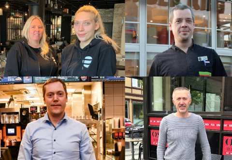 SELGER MEST: Både McDonalds, Burger King, Burglar Skien og Oscar Basserie sender mange retter hjem til folk via Foodora.