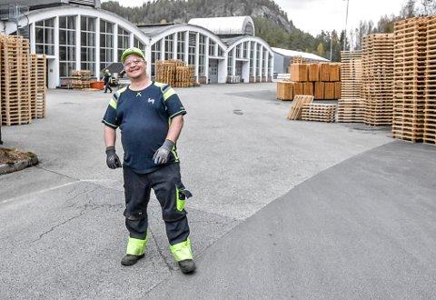 STØTTE:  Kim Marius Hjørnevik og resten av gatelaget vil få stor støtte fra tribunen når de møter Fram i Larvik. Dessuten kan hele Norge følge kampen på Direktesport.