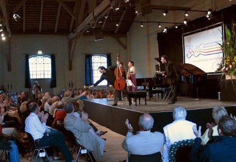 MINNE: En klassisk musikkkonsert på en låve i Wotersen, Tyskland, «vekket» Petter Andersen.