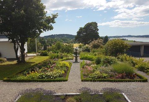 DRØMMEHAGEN: Er det en spesiell hage du har vært nysgjerrig på lenge, har du kanskje muligheten til å svinge innom førstkommende søndag.