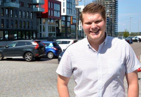 ENGASJERT: Selv om sametingsvalget ikke gikk helt som håpet for Eivind Yrjan Stamnes (Ap), så gleder han seg desto er over resultatet av årets stortingsvalg.