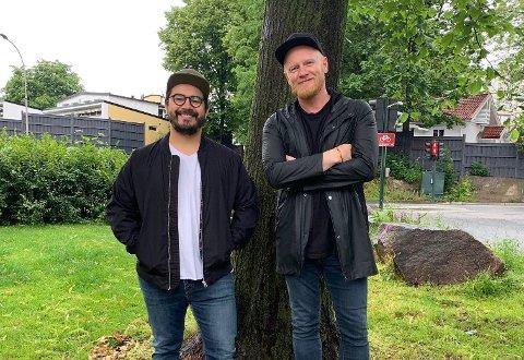 AMERIKANSK GJEST: Når Lewi Bergrud byr på bryggekonsert på Viken II lørdag har han med seg ingen ringer enn Chris Medina som gjest.