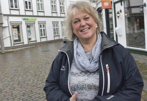 Omsorg for andre: Kirsten Lorenz Hegland ønsker å bidra til et tryggere Tvedestrand for alle. Foto: Anne Dehli