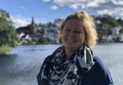 Esther Kristine Hoel: Sier opp stillingen som sektorleder i Tvedestrand.  Foto: Arkiv/Siri Fossing