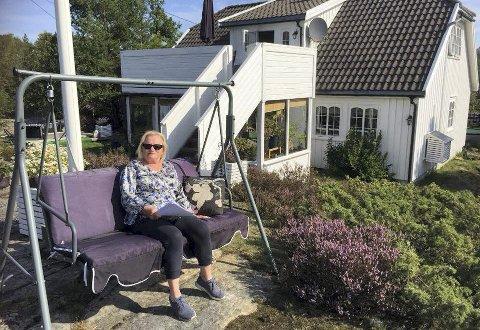Lyngør-kvinne på topp: Ellen Hertzberg fra Lyngør er ny leder i Tvedestrand Høyre. Hun gleder seg til å lede lokallaget. Privat foto