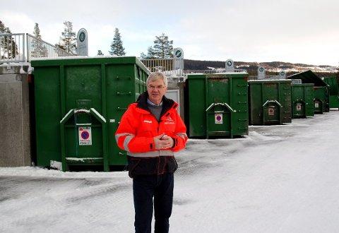 Eivind Berg ved VKR tar lavest pris for levering av avfall, sammenlignet med 19 andre tilsvarende selskaper.