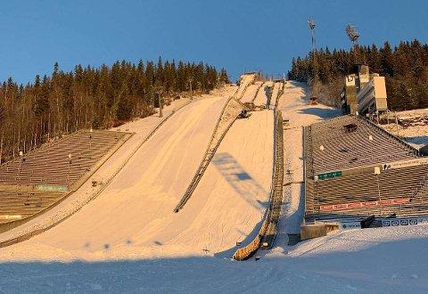 NM i helga: Norgesmesterskapet i hopp stor bakke ble utsatt i mars på grunn av koronaen. Lørdag blir det et nytt forsøk i Lysgårdsbakken på Lillehammer.