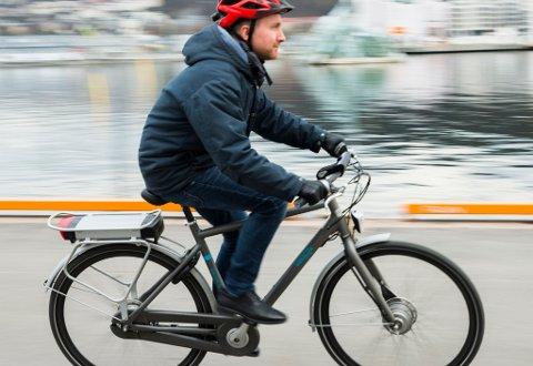 El-sykkelsalget i Norge øker og øker. Foto: Berit Roald / NTB scanpix
