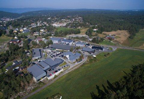 Coop Norge Eiendom vil bygge en ny Extra-butikk ved innfarten til Son, vís a vís næringsområdet Sletta.