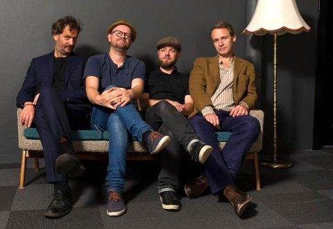 Lars Beckstrøms kvartett byr på en underfundig, musikalsk aften på Hellviktangen lørdag. Pressefoto