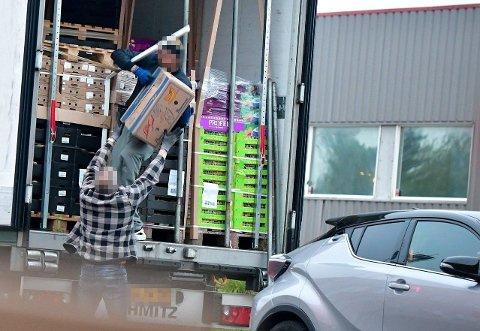 OMFATTENDE ETTERFORSKNING: Spaningsbilde fra «Operasjon Hubris». Etterforskningen er rettet mot organiserte kriminelle nettverk som står bak innførsler av store mengder narkotika til Norge.