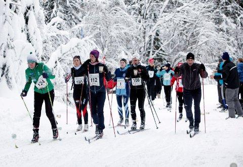 GOD GLID: Mange langrennsentusiaster er opptatt av hva man har under skiene. Her fra Vestergyllen 2012.ILLUSTRASJONSFOTO: TORE GURIBY