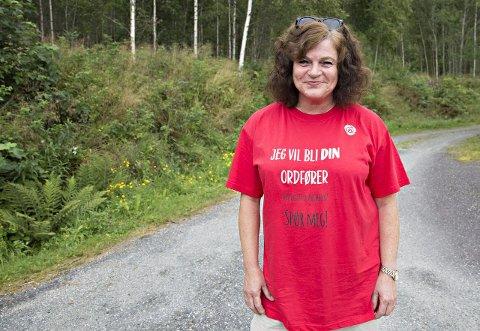 Milly Bente Nørsett, 1. kandidat for Tingvoll Ap