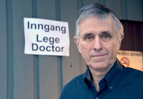 Følges opp: Smittevernlege Bjarne Storset opplyser at mannen følges opp av lokalt helsevesen.