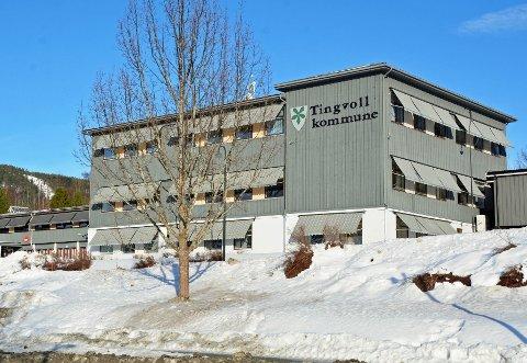 Kommunehuset: Stengt for publikum fram til 12. april.