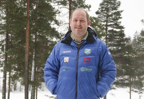 GIR SEG: Fredrik Hafredal trer av som leder i Gjerstad idrettslag, det ble klart under lørdagens årsmøte på Lyngrillen.
