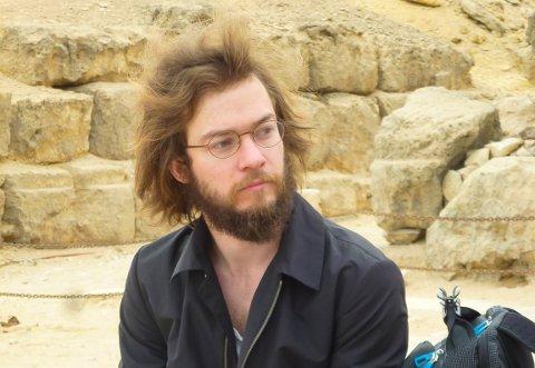 STUDERTE EGYPTOLOGI: Geirr Kristian Homme Lunden tok en valg som få andre nordmenn gjør.