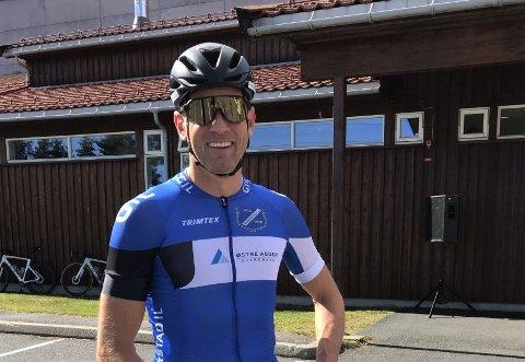 RASKEST: Per Eskeland vant Fjorden rundt etter å ha vunnet spurten i bruddet som gjorde opp om seieren.