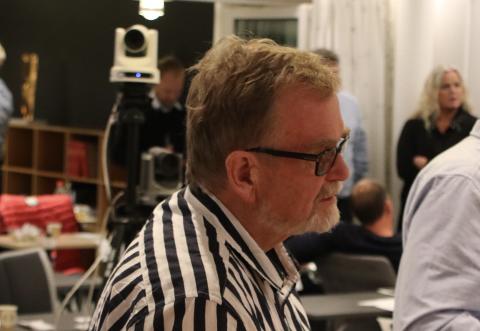FREMPÅ: Steinar Dyrli (SV) var frempå med flere forslag til planstrategien for Flekkefjord, men fikk ikke flertall for hverken likestillingsforslag, klimaforslag eller beredskapsforslag.