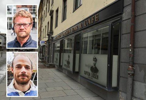 Erik Tostrup og Andreas Hemminghytt Spørck har kjøpt driften av Piccadilly, Kaptein Larsen og Styrhuset - og overtar første mars.