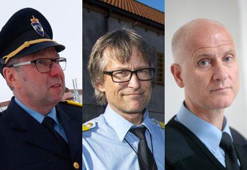 Fengselslederne Ole Jonny Rydland (Romerike), Harald Åsaune (Bergen) og Øyvind Alnæs (Oslo).