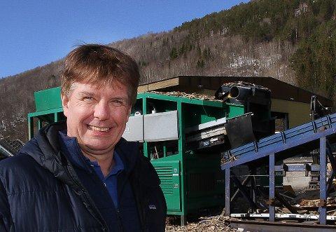 Administrerende direktør Leif Magne Hjelseng i IRIS Salten IKS