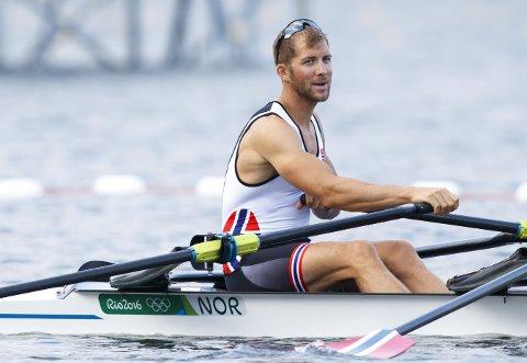 Kristoffer Brun ble ikke rik av OL-medaljen.