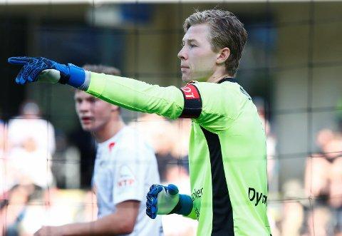 Sogndals keeper Mathias Dyngeland er tatt ut i sin første A-landslagstropp. (Foto: NTB scanpix)