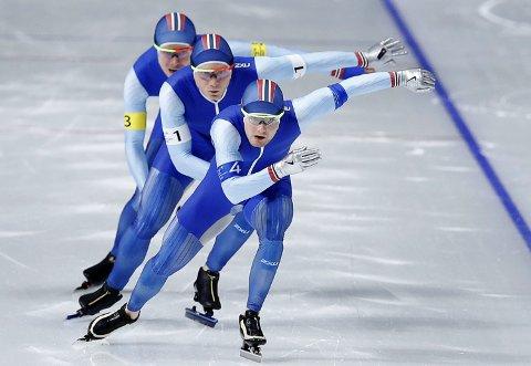 Osingen Sverre Lunde Pedersen dro seg selv og lagkameratene inn til OL-gull.