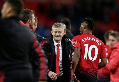 MISTER RASHFORD? Manchester United-manager Ole Gunnar Solskjær. (AP Photo/Tim Ireland)