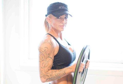 Hardtrening: Anne-Marit Tveit fra Randaberg trener hardt for å nå målene sine.
